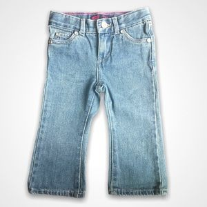 Girls Levis Sparkly Flare Jeans